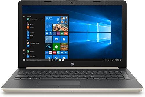 "Hp 15-Da0073Ns 1.8Ghz I7-8550U Intel Core I7 Di Ottava Generazione 15.6"" 1366 x 768Pixel Oro, Argento Computer Portatile"