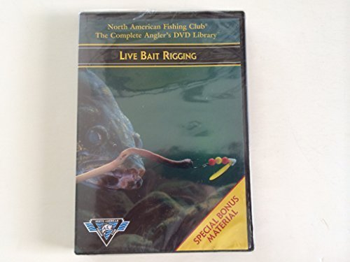 North American Fishing Club The Complete Angler's DVD Library - Live Bait Rigging DVD