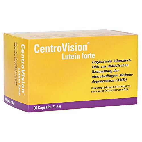 Lutein 90 Tabletten (CentroVision Lutein forte, 90 St. Kapseln)