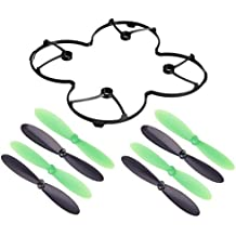 Estes Dart Black Protection Cover for 7mm Cup Motor Propeller Puller Rotor Blade Combo Shield Trainer Black and Green - FAST FREE SHIPPING FROM Orlando, Florida USA!