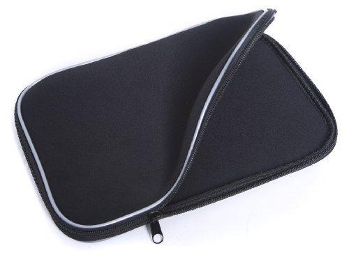 'Navitech Schutztasche/werkstatt 12.1Zoll Neopren, Farbe schwarz, wasserdicht, ideal für Transport und Schutz für Sony VAIO VPCYB3V1E 11.6Laptop/Netbook/Notebook/PC. -