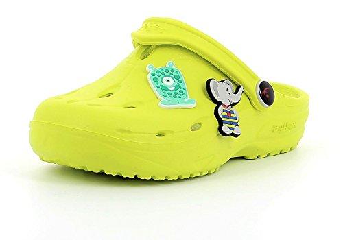 Chung Shi Dux Kids Schuh-Shibit-Set 7910170 Jungen & Mädchen Kinder Clogs & Pantoletten Lime (Grün), 34/35 - Lime Grün Clogs