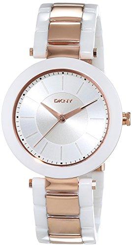 DKNY Women's Quartz Watch with Black Dial Analogue Display Quartz Ceramic NY2290