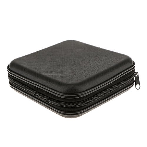 Generic Black 40 Disc CD DVD Case Storage Bag Album Holder Box Cover Organizer Records Pouch Wallet  available at amazon for Rs.295