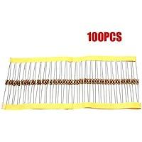 TOOGOO(R) 100 Pz 1 / 4W 0.25W 5% 1 K