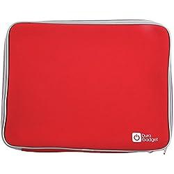 """Duragadget Housse pour ASUS ROG G553VW-FY149T, ASUS ROG G552VW-DM475T & Acer Aspire VX5-591G-584Z PC Portables Gamer 15"""" et 15,6""""- en néoprène Rouge résistant à l'eau"""