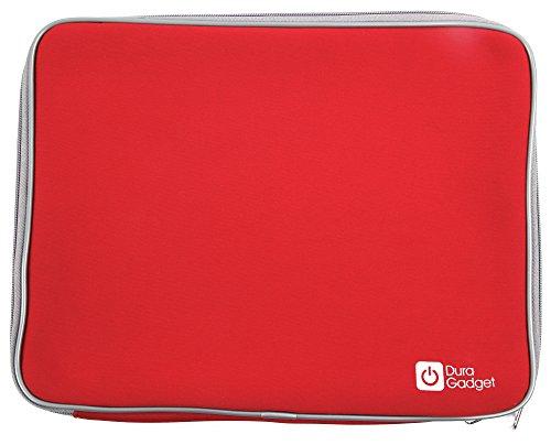 DURAGADGET Wasserabweisende Hülle für MSI WS72 Workstation Laptops (Rot)