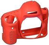 easyCover by Bilora silicone custodia protettiva Per Canon 5d Mark IV Rosso
