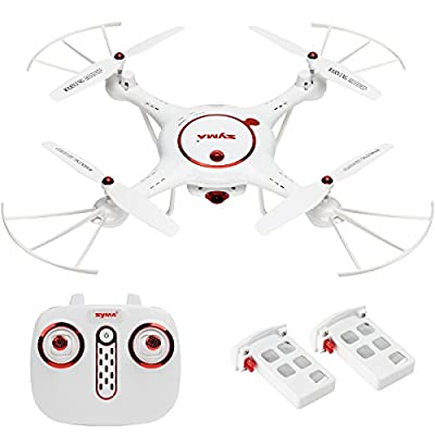 Syma X5UC RC Quadcopter Drone Copter Helicopter with 2.0MP Camera One Key Take-off Landing Function