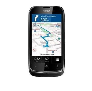 Nokia Lumia 610 Smartphone GSM/EDGE/WCDMA/HSDPA A-GPS Bluetooth Windows 7.5 Noir