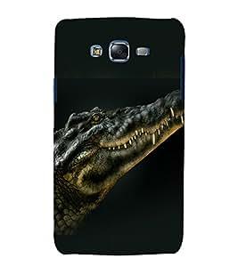 printtech Nature Reptile Crocodile Back Case Cover for Samsung Galaxy A8 / Samsung Galaxy A8 A800F