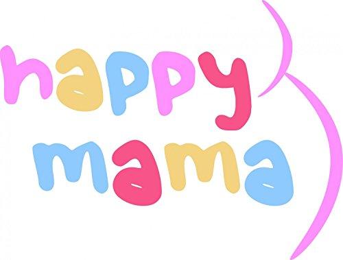 Happy Mama. Damen Umstands Set Stillnachthemd & Morgenmantel Stillfunktion. 767p Koralle