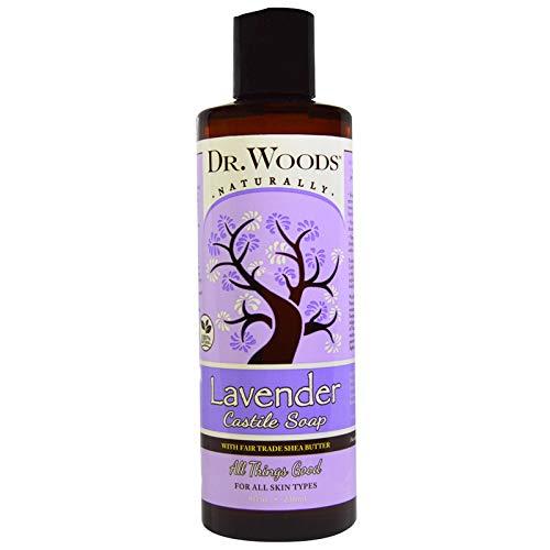 Dr. Woods Shea Vision Pure Castile Soap Lavender With Organic Shea Butter (8 Fl Oz)