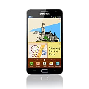Samsung Galaxy Note N7000 Smartphone (13.5 cm (5.3 Zoll) HD Super AMOLED-Touchscreen, 8 MP Kamera, Android 4.0 oder höher) carbon-blue