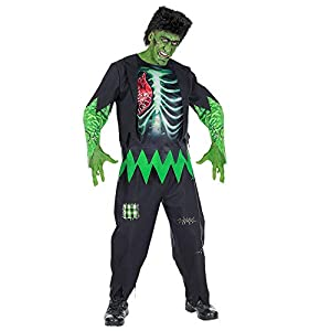 WIDMANN Disfraz de Hulk Monster Halloween para hombre de Frankenstein, disfraz de Halloween, adulto, talla L