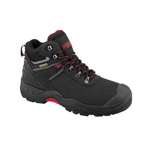 Blackrock Tempest - Chaussures montantes de sécurité - Homme Noir/Rouge