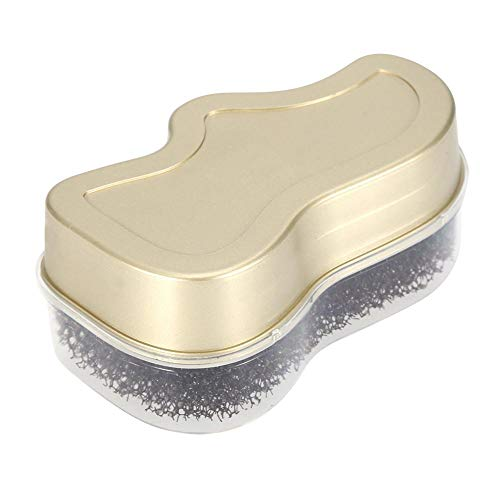 TOPINCN Cepillo de Limpieza para Zapatos de Brillo rápido de Esponja para pulir y Limpiar Limpiador de Polvo Cuidado de los Zapatos