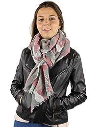 Mer's Style - Fular Bufanda de Invierno, para Mujer
