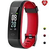 Willful Orologio Fitness Tracker Uomo Donna Smartwatch Android iOS Cardiofrequenzimetro da Polso Smart Watch Contapassi Smartband Impermeabile IP68 Activity Tracker per iPhone Xiaomi Samsung Huawei