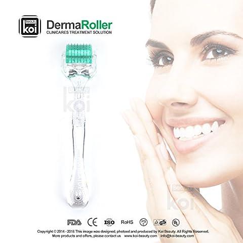 Koi Beauty rouleau Derma 192 Aiguilles 0,5-2.0 mm pointe Profondeur Vergetures perte de cheveux visage yeux d'
