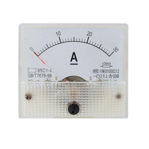 Sonline 85C1 Analog Current Panel Meter DC 30A AMP Amperemeter Dc Amp Meter
