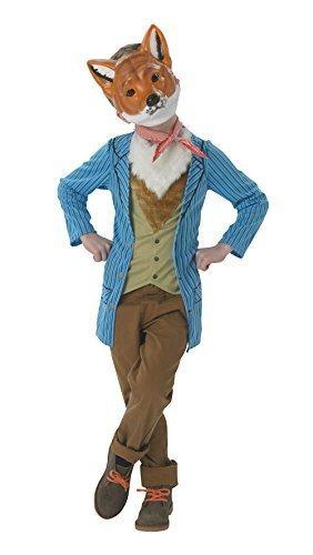 Fantastic Mr Fox Roald Dahl Maskenkostüm (5-6 Jahre) (Mr Fantastic Kostüm)