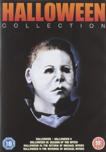 Halloween 1-5 Collection [DVD] by Jamie Lee Curtis (Halloween 2 3 4 5)