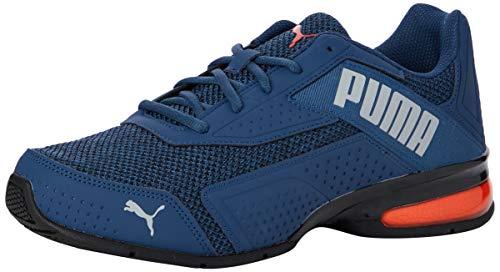 PUMA Leader Vt Bold, Zapatillas de Running Unisex Adulto, Azul Dark Denim/Lava Blast 05, 39 EU
