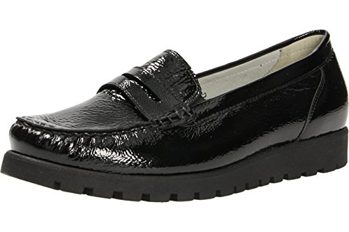 WALDLÄUFER Hegli 549002 A143 099 Donna Mocassino Black