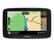 TomTom Car Sat Nav GO Basic, 6 Inch, with Traffic Congestion and Speed Cam Alert Trial Thanks to TomTom Traffic, EU Maps, Updates via WiFi, Integrated Reversible Mount