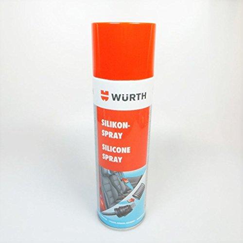 Preisvergleich Produktbild Würth Silikonspray farblos (4011231893978) 500ml Gleitspray Trennmittel