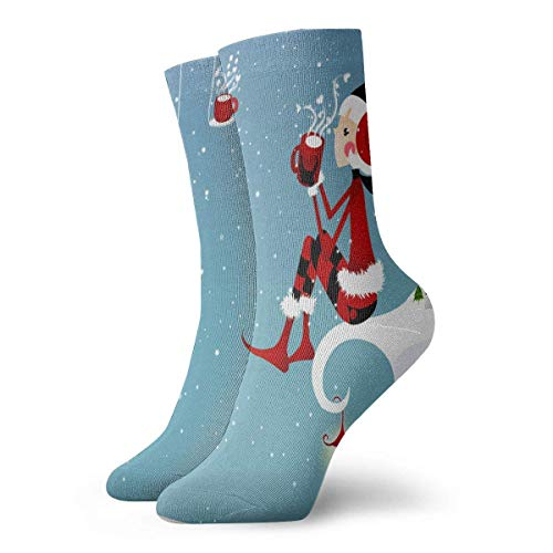 REordernow Sportliche Herrensocken Crew Socks Christmas Holiday Candle Marvellous Womens Sports Stocking Decor Sock Clearance For Boys