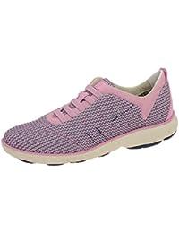 Geox Zapatos–Mujer Deportivo Slipper Nebula