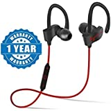 Olectra QC-10 Wireless Sports Bluetooth Headset With Mic || Opoolo QC-10 Sweatproof Earbuds, Best For Running,Gym || Noise Cancellation || Stereo Sound Quality || Compatible With All Android/Ios Smartphone- Assorted Color