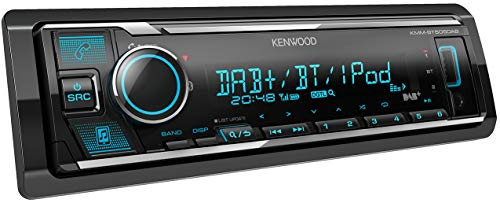 KMM-BT505DAB Autoradio USB con DAB+ e vivavoce Bluetooth (processore audio, MP3, Android/Apple & Spotify Control, 4 x 50 Watt, colori regolabili)