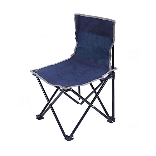 L&J Plein Air Camping Chaises Pliantes, Portable Confortable Stabilité Durable Chaise De Pêche, Le Picnic Barbecues Peinture Croquis, Charge 90kg-B