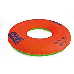 Zoggs Kid's Safe Swimming Ring Confident Support, Orange, 2-3 Years up to 15 kg
