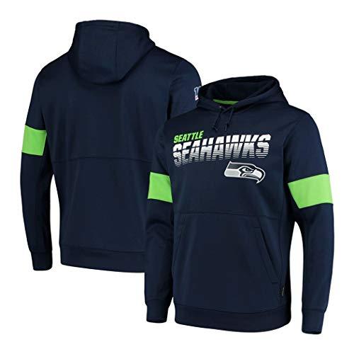 Männer Hoodie Sweatshirt for Los Washington Redskins Angeles Rams Seattle Seahawks Minnesota Vikings American Football Fans Trikots (Color : NFL 3, Size : XXL)