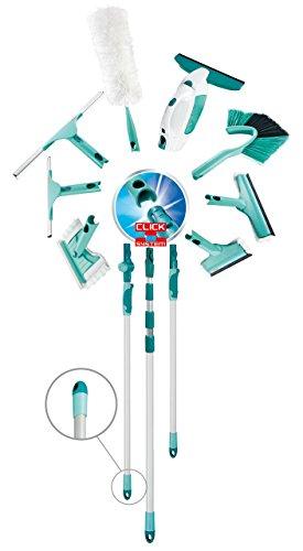 Leifheit 41521 - Palo telescópico de acero, 110 cm, color azul