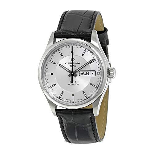 Certina Herren-Armbanduhr XL Analog Automatik Leder C022.430.16.031.00