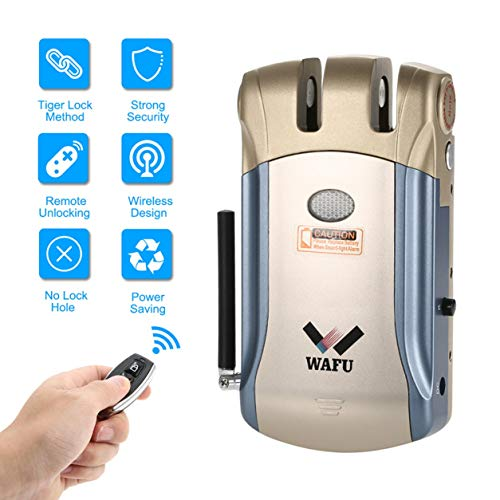 WAFU Smart Lock HF-008 Bluetooth de huellas dactilares y pantalla táctil Bloqueo sin llave