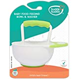 Buddsbuddy Baby Food Feeding Bowl and Masher 1Pc BB7009 Green