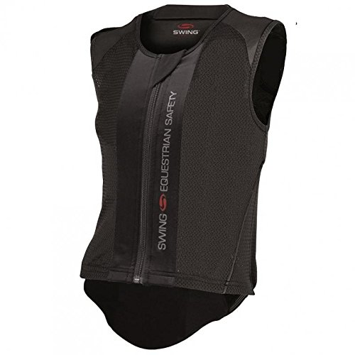 SWING Rückenprotektor P06 flexible, Erwachsene, schwarz, EM