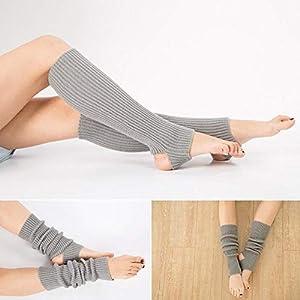 HATCHMATIC Berufsfrau Beinschutz Yoga Socken Lage Latin Dance Leg Sets Strickschutz Wolle Yoga Ort: