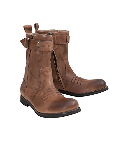 galliano-herren-schuhe-boots-brown-brown-45
