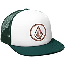 Volcom Full Frontal Cheese Verde Cap de Trucker, Thyme Green, One Size