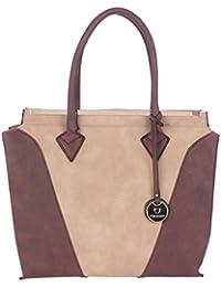 FUR JADEN Women's Handbag( Light Beige,H215_LBeige)