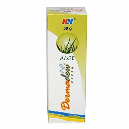 H&H Dermadew Aloe Cream 50g (Pack of 3)