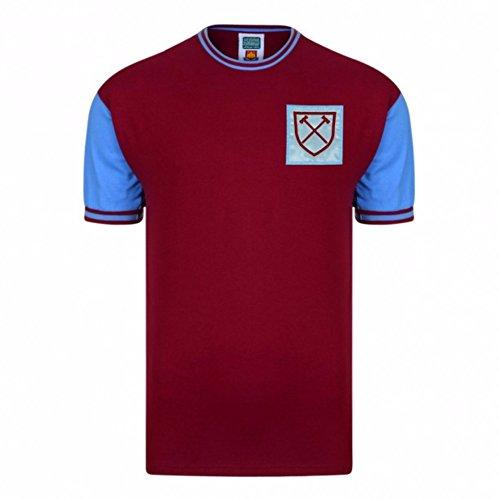 West Ham United FC Camiseta Réplica 1966 Oficial