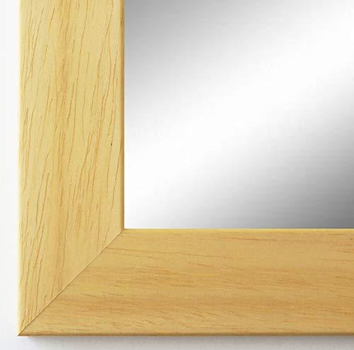 Online Galerie Bingold Wandspiegel Spiegel Badspiegel - Florenz 4,0 - Natur Braun - 40 x 60 -...